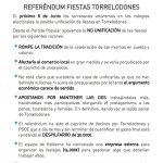 El PP a favor de mantener las dos fiestas tradicionales de Torrelodones