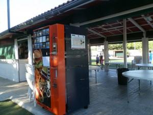 Máquina forzada para robar la recaudación en el Minifútbol de Torrelodones