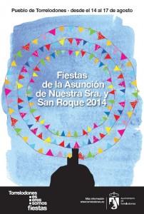 Programa de Fiestas de la Asunción y San Roque - Torrelodones - Agosto 2014