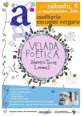 Velada poética del Ateneo de Torrelodones dedicada al poeta Juan Gelman