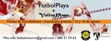 Campeonatos de Fútbol Playa y Volley Playa - Torrelodones - Fiestas de la Asunción 2014