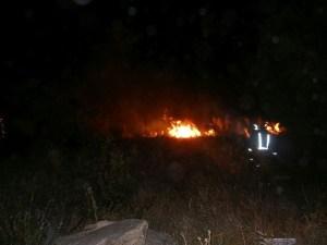 Incendio en Las Marías de Torrelodones 2-8-2014 (Foto: gentileza de Fernando Villaverde)