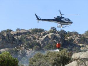 Incendio domingo 10-8-2014 en Torrelodones, el tercero en 3 días