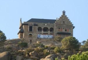 Pintada en el Canto del Pico (Foto de Archivo)