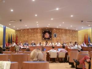 Foto: Pleno del 16 de septiembre 2014