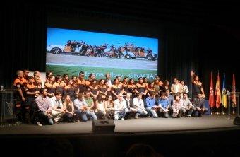 Homenaje a la Agrupación de Voluntarios de Protección Civil de Torrelodones en su XX Aniversario