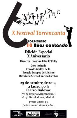 X Festival Torrecanta