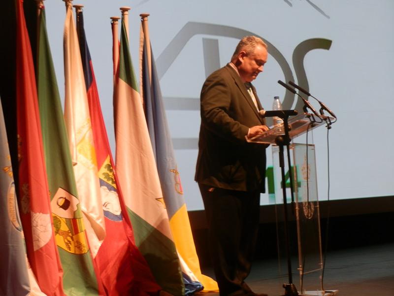 José Joaquín Cobo Serrano, presidente de la Agrupación Deportiva de la Sierra (ADS)