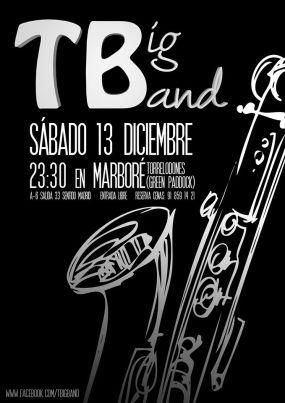 Concierto de T-Big Band en Marboré