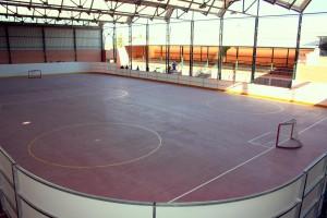 Nueva pista de hockey y patinaje de Galapagar