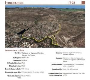 """""""Ruta del Arroyo de Trofas, Pendolero y Tapia de El Pardo"""""""