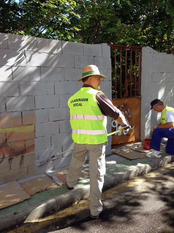 Imagen de archivo del Ayuntamiento correspondiente a otros de los proyectos puestos en marcha el pasado año