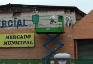 Dos meses requirirá retirar las peligrosas placas de amianto del Mercado Municipal de Galapagar