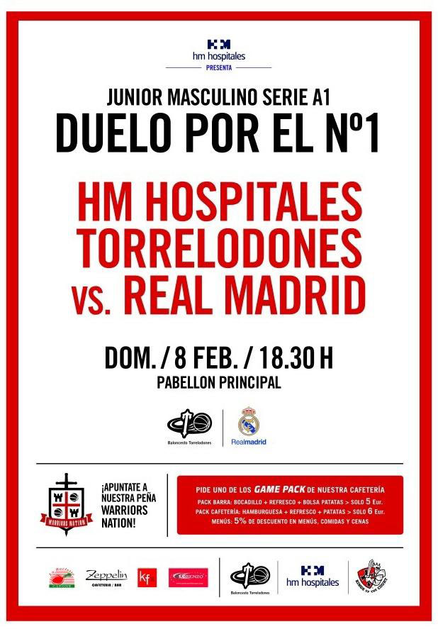 HM HOSPITALES TORRELODONES Y REAL MADRID LUCHAN POR EL LIDERATO