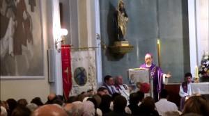 """Monseñor Fidel Herraez, obispo auxiliar de Madrid, presidió la misa """"corpore insepulto"""""""