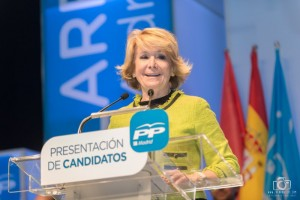 Presidenta del PP de Madrid y candidata a la Alcaldía de Madrid, Esperanza Aguirre (Foto: juanangelTC.com)