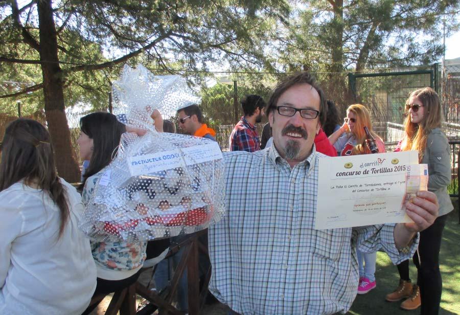 Rafa Furnieles, Primer Premio en el Concurso de Tortillas