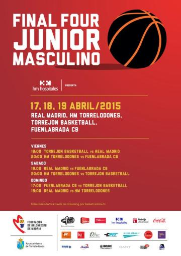 Final Four Junior Masculino 2015 en Torrelodones