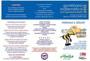 Gymkhana Matemática 2015 - Collado Villalba