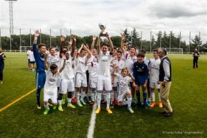 "Real Madrid C.F. en el II Torneo Infantil ""Angel Lanchas"""