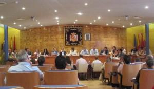 Pleno de Organización del Ayuntamiento de Torrelodones 18-6-2015
