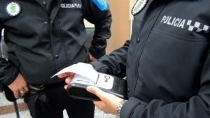 detector de drogas de la policía de Galapagar