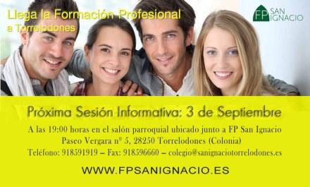 Sesión Informativa sobre Ciclos de Formación Profesional en Torrelodones