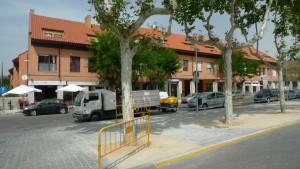 Robo en garaje de urbanización de calle Real, Torrelodones