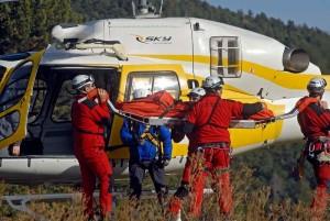 Grupo Especial de Rescate en Altura (GERA) del Cuerpo de Bomberos de la Comunidad de Madrid (Foto: Madrid.org)
