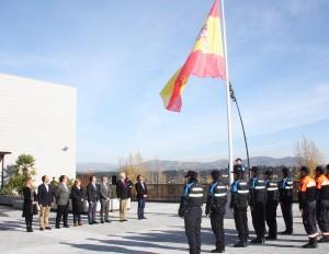 Izado-bandera-policia-galapagar