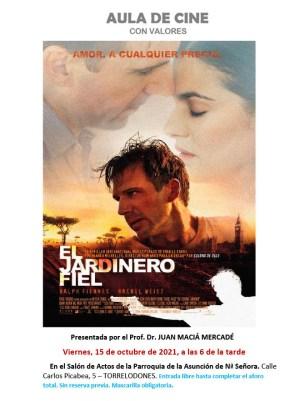 Cartel de la película El Jardinero Fiel