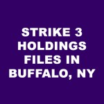 Strike 3 Holdings LLC files in new york