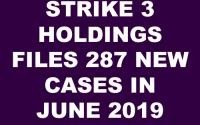 Strike 3 Holdings v John Doe Cases