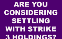 Settle with Strike 3 Holdings
