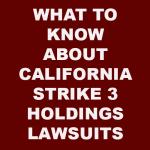 California Strike 3 Holdings
