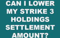 Strike 3 Holdings Settlement Amount