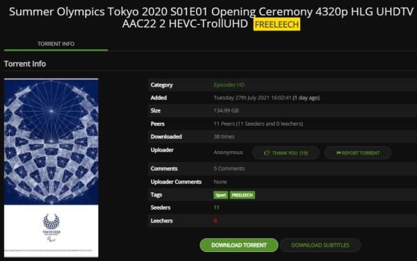 olympics 8k torrent