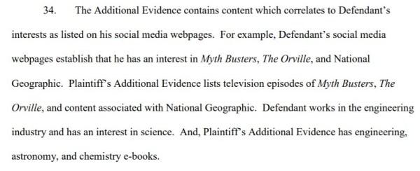 additional evidence