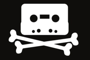 cassette tape pirate music