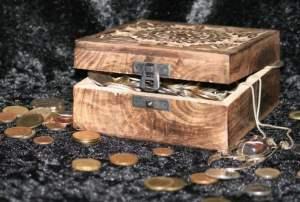 treasure chest pirate bounty