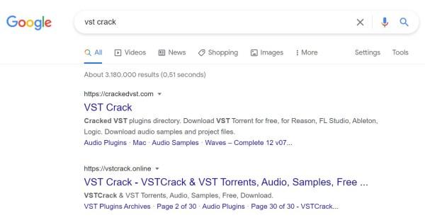 vst crack google