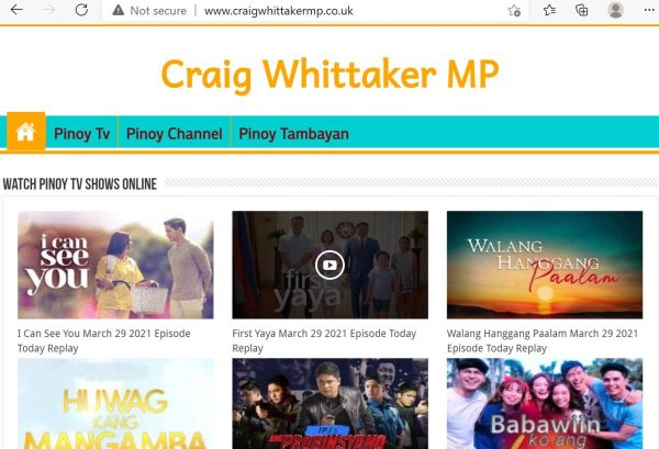 whittaker new site