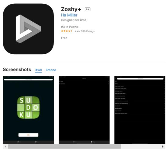 Zoshy-Sudoku