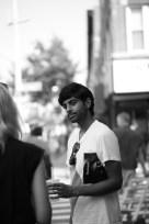 Gautam Kansara, artist, New York, photo by Alain Kantarjian