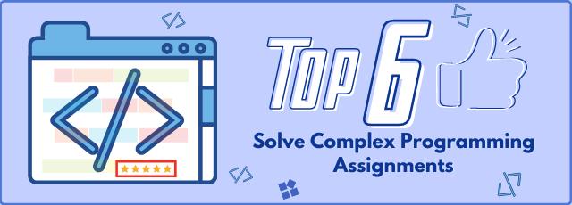 Solve Complex Programming Assignments