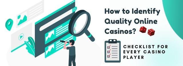 Checklists To The Best Online Casinos