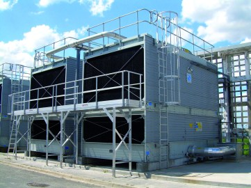 Open cooling towers