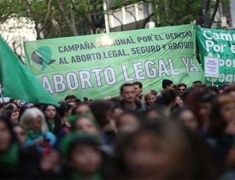 Ley de despenalización del aborto
