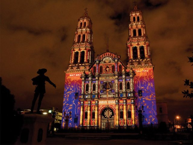 cathedral-at-night-with-lights