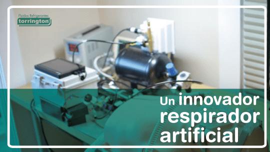 COVID-19: Un innovador respirador artificial fabricado con piezas de refrigeración